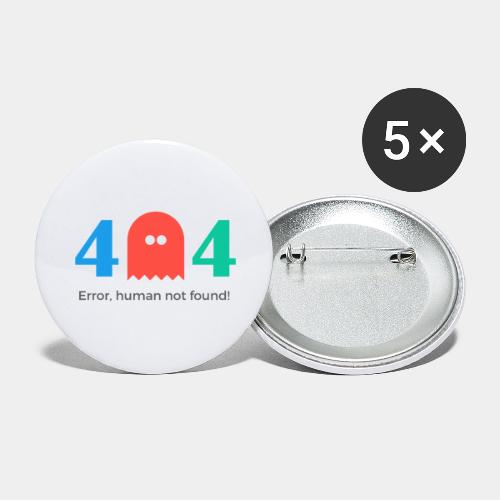 error - Buttons large 2.2'' (5-pack)