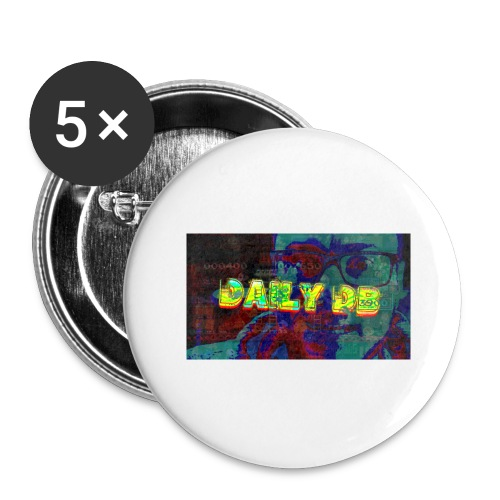 The DailyDB - Buttons large 2.2'' (5-pack)