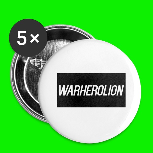 Warherolion iPhone 6/6S phone case Warherolion - Buttons large 2.2'' (5-pack)