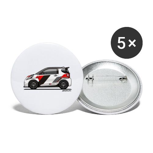 Toyota Scion GRMN iQ Concept - Buttons large 2.2'' (5-pack)