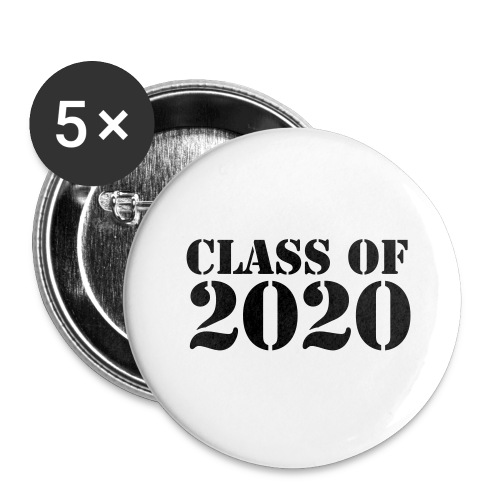 Class of 2020 - Buttons large 2.2'' (5-pack)
