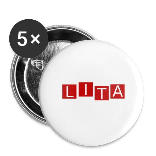 LITA Logo - Buttons large 2.2'' (5-pack)