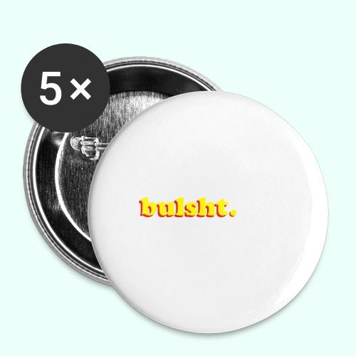 BulSht. Logo - Buttons large 2.2'' (5-pack)