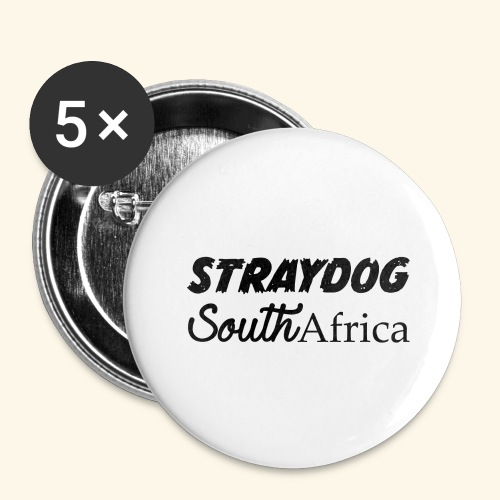 straydog clothing - Buttons large 2.2'' (5-pack)