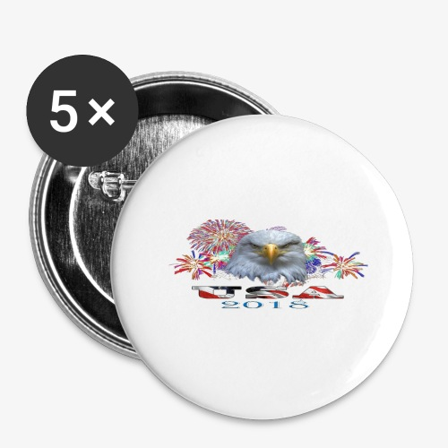 USA EAGLE 2018 - Buttons large 2.2'' (5-pack)