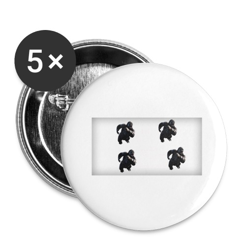 KINGKONG! - Buttons large 2.2'' (5-pack)