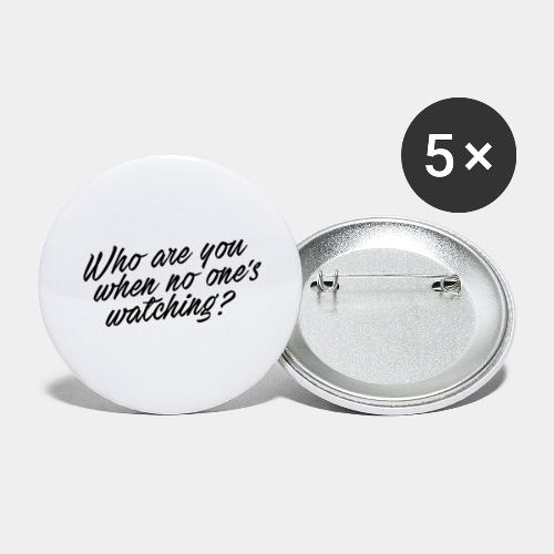 who - Buttons large 2.2'' (5-pack)
