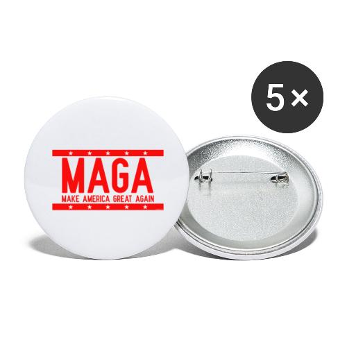 MAGA - Buttons large 2.2'' (5-pack)