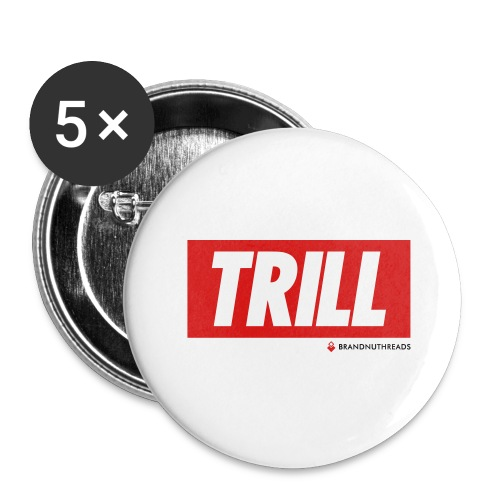 trill red iphone - Buttons large 2.2'' (5-pack)