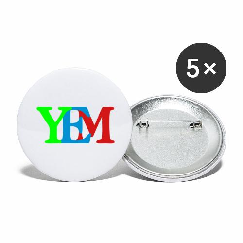 YEMpolo - Buttons large 2.2'' (5-pack)