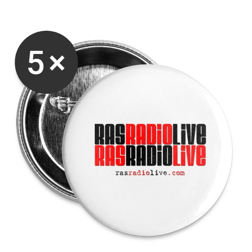 rasradiolive png - Buttons large 2.2'' (5-pack)