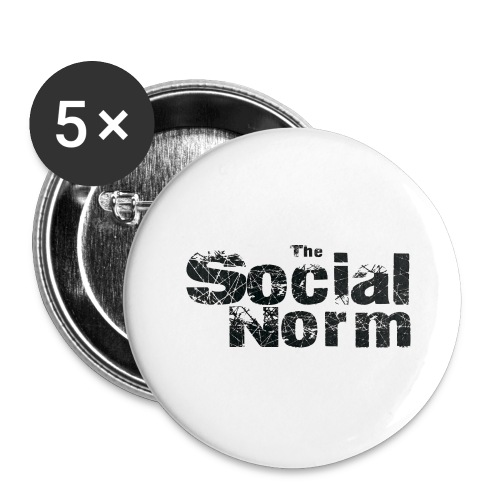 The Social Norm Official Merch - Buttons large 2.2'' (5-pack)