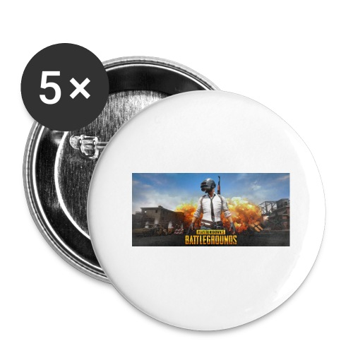 pubg 1 - Buttons large 2.2'' (5-pack)