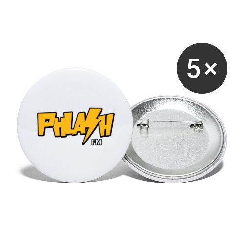PHLASH fm - Buttons large 2.2'' (5-pack)