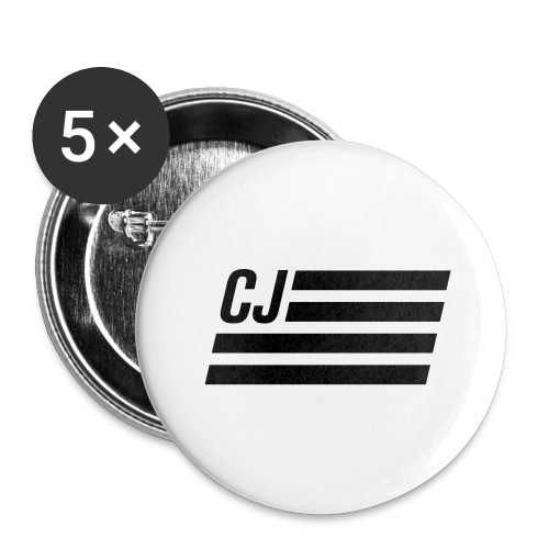 CJ flag - Autonaut.com - Buttons large 2.2'' (5-pack)