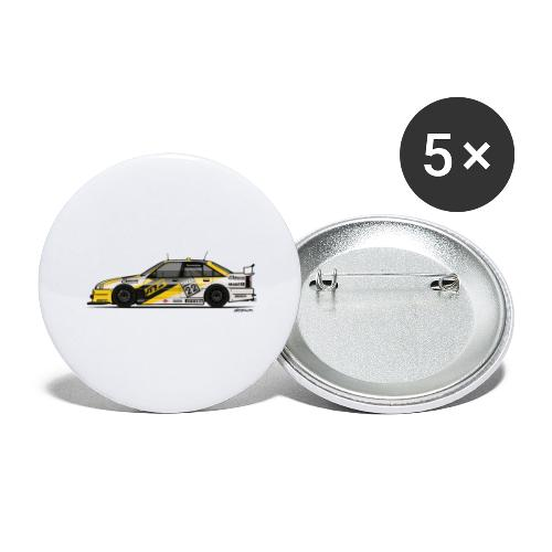 Opel Omega A Irmscher Evo 500 ATS DTM Touring Car - Buttons large 2.2'' (5-pack)