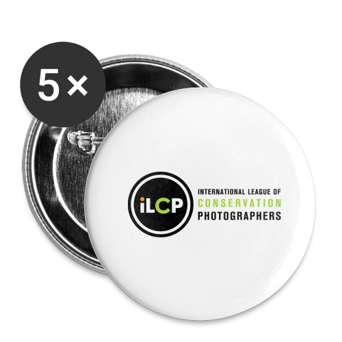 iLCP logo horizontal RGB png - Buttons large 2.2'' (5-pack)