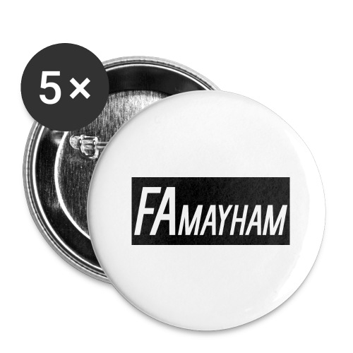 FAmayham - Buttons large 2.2'' (5-pack)