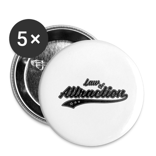 Attraction - Buttons large 2.2'' (5-pack)