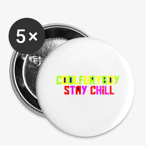 CoolFuryBoy - Buttons large 2.2'' (5-pack)