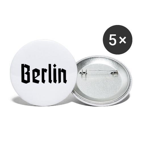 BERLIN Fraktur Font - Buttons large 2.2'' (5-pack)