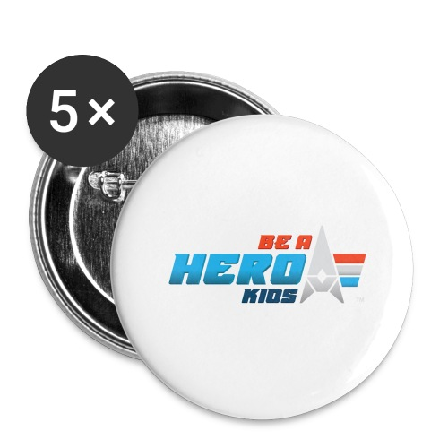 BHK primary full color stylized TM - Buttons large 2.2'' (5-pack)