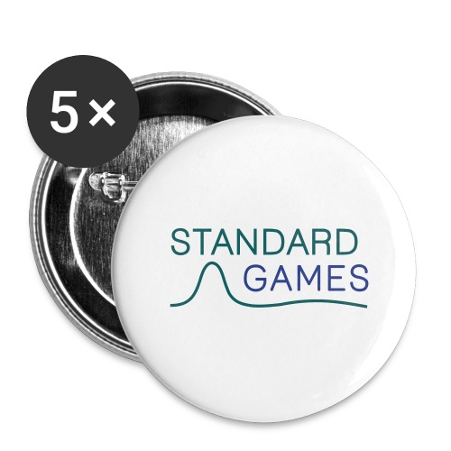 standardgames-logo-hat - Buttons large 2.2'' (5-pack)