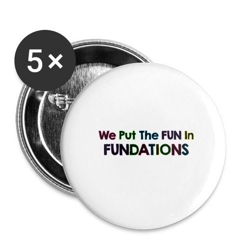 fundations png - Buttons large 2.2'' (5-pack)