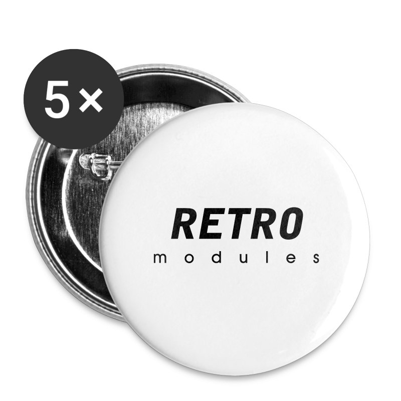 Retro Modules - sans frame - Large Buttons