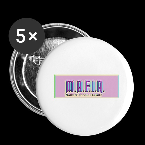 Trippy Mafia Logo - Buttons large 2.2'' (5-pack)