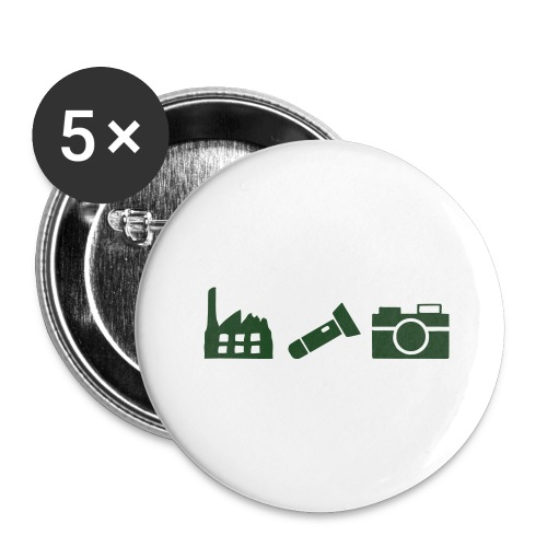 DCUE_Icons_Small - Buttons large 2.2'' (5-pack)
