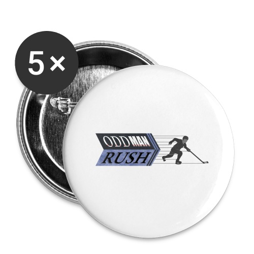 Odd Man Rush Player - Buttons large 2.2'' (5-pack)