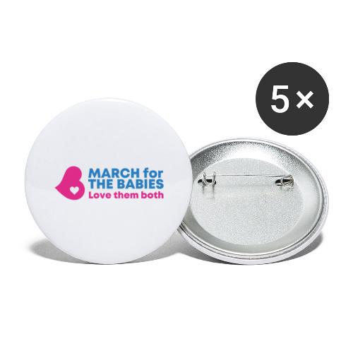 MFTB Logo - Buttons large 2.2'' (5-pack)