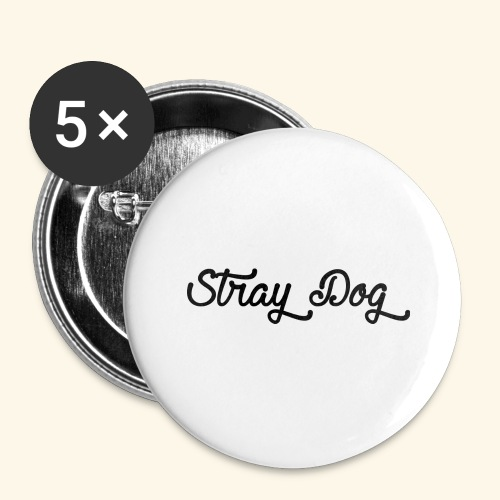 straydog - Buttons large 2.2'' (5-pack)