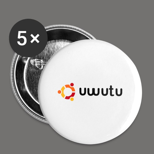 UWUTU - Buttons large 2.2'' (5-pack)