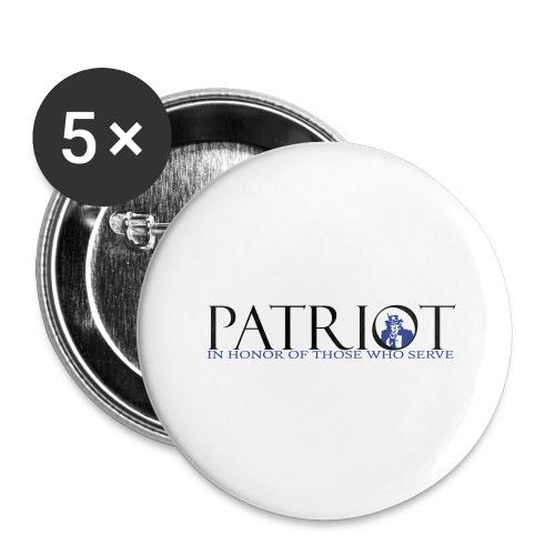 PATRIOT_SAM_USA_LOGO - Buttons large 2.2'' (5-pack)