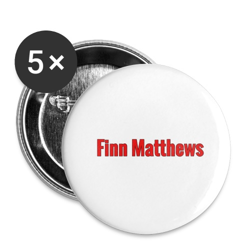 FM Logo - Buttons large 2.2'' (5-pack)