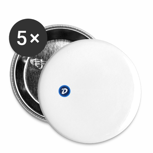 Digibyte online light - Buttons large 2.2'' (5-pack)