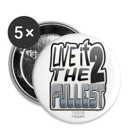 ww live it to the fullest - Buttons large 2.2'' (5-pack)