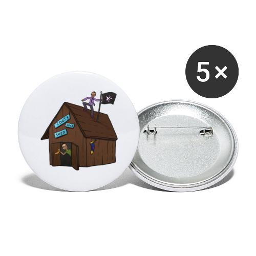Cody's Sock Shed - Buttons large 2.2'' (5-pack)