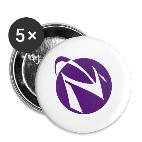 Spacemacs-fo-lavender - Buttons large 2.2'' (5-pack)