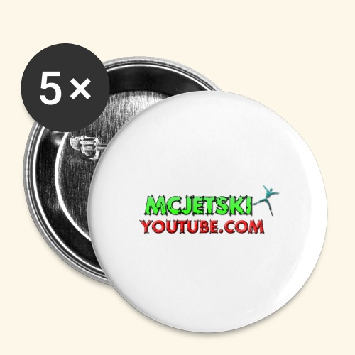 channel - Buttons large 2.2'' (5-pack)