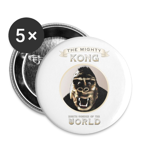 Classic Kong - Buttons large 2.2'' (5-pack)