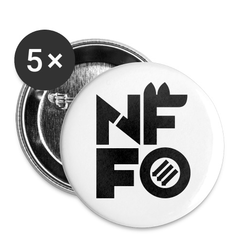 NFFO - Buttons large 2.2'' (5-pack)