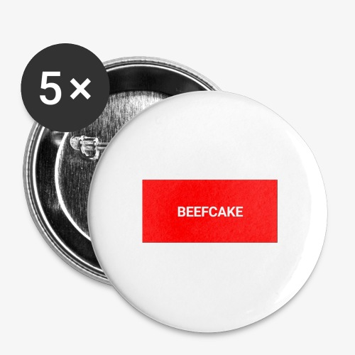 Beefcake supreme - Buttons large 2.2'' (5-pack)