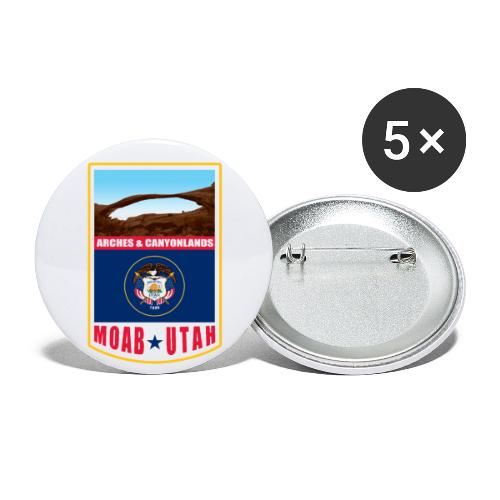 Utah - Moab, Arches & Canyonlands - Buttons large 2.2'' (5-pack)