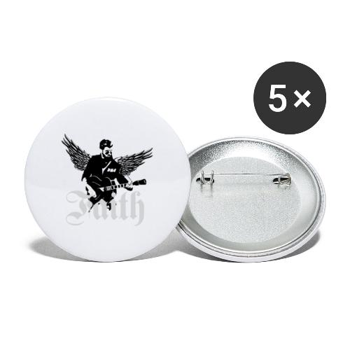 faithwings png - Buttons large 2.2'' (5-pack)