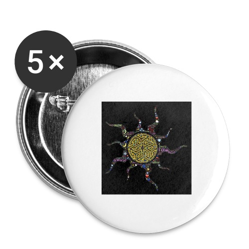 awake - Buttons large 2.2'' (5-pack)