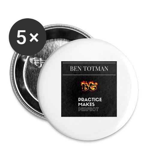 Ben Totman - Buttons large 2.2'' (5-pack)