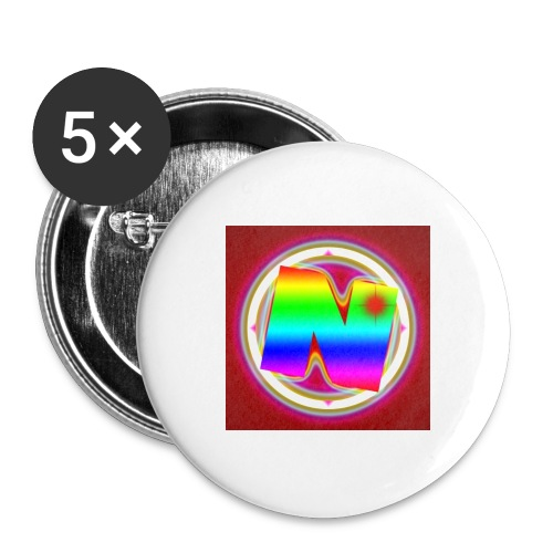 Nurvc - Buttons large 2.2'' (5-pack)